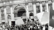 1987 Protest Municipal Building Blog